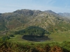Blea Tarn from the route up Lingmoor Fell.