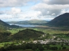 Bassenthwaite Lake and Braithwaite from the ridge of Barrow.