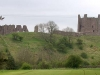Brough Castle from the A66 sliproad.