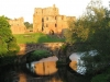 Brougham Castle at 5.00am on midsummer morning.