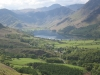 Buttermere village and lake, from Rannerdale Knotts.