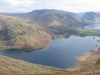 Crummock water and Buttermere from near the top of Mellbreak.