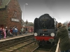 Duke of Gloucester at St Bees Station. Photo by Alan Cleaver.