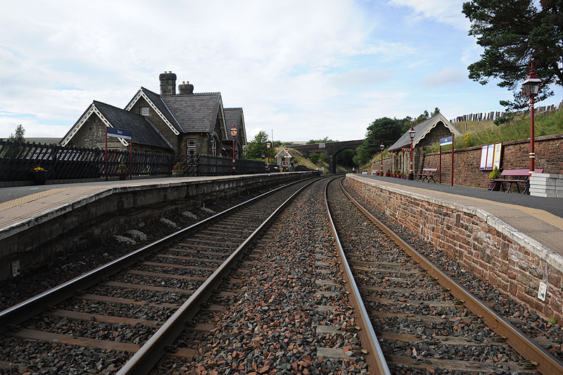 Dent Railway Station On The Settle To Carlisle Line