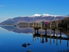 Derwentwater and Skidaw.