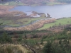 The head of Bassemthwaite Lake from the very steep little path up the northwest of the fell.