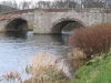 The bridge over the River Eamont.