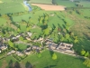 Edenhall village, with St Cuthbert\'s Church top centre.