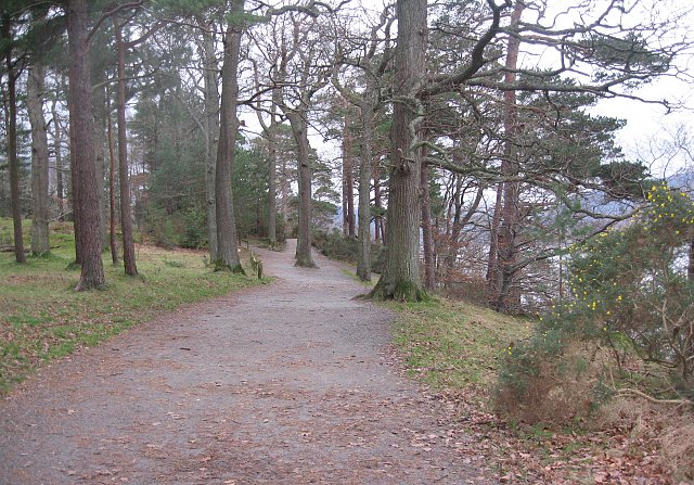 Path to friars crag