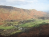 Maiden Moor, Catbells and Grange in Borrowdale from King\'s How.