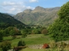 The \'classic\' view of Great Langdale and the Pikes from St Annes.