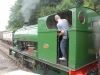 Kirkby Stephen East Heritage Centre.  Peckett 0-4-0 \'F C Tingey\' no 2084 - built at the Atlas Works in Bristol in 1948.