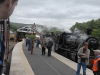 Kirkby Stephen East Heritage Centre.  Visiting steam trains for the open days