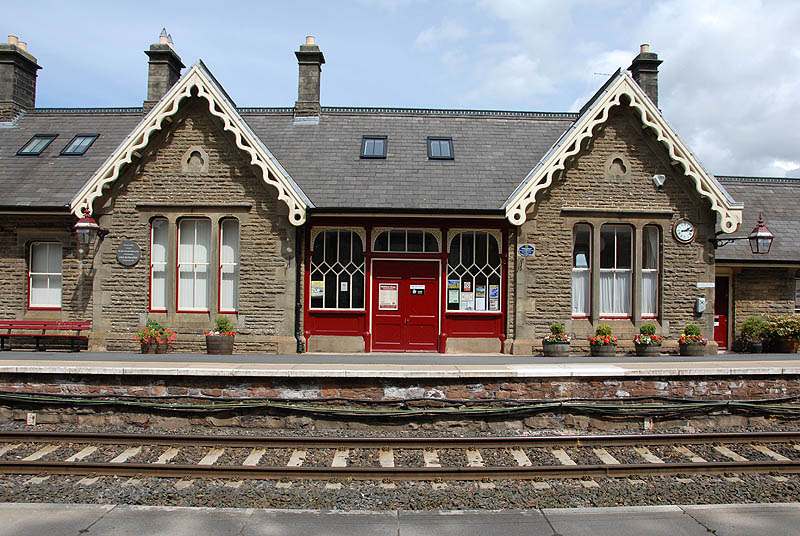 kirby stephen railway station on the settle to carlisle line