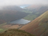 Towards Brothers Water and Ullswater from the ridge of Caudale Moor.