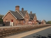 Langwathby Station on the famous Carlisle to Settle Railway i