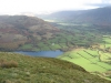 Lorton Vale and the foot of Loweswater from Carling Knott.