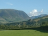 The Lorton Valley, looking towards Grasmoor and Melbreak from Cockermouth.