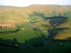 North end of the Mallerstang Valley, with an infant River Eden