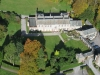Mirehouse, Bassenthwaite, Lake District.  Aerial view