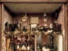 Detail of the interior of the Dolls House in the Treasure Room at Hill Top, Sawrey, Cumbria, the home of Beatrix Potter