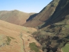 The road climbing from Buttermere to Newlands Hause