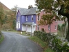 Rigg Beck, the purple house, Newlands Valley
