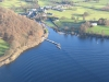 Pooley Bridge and the pier at the head of Ullswater.
