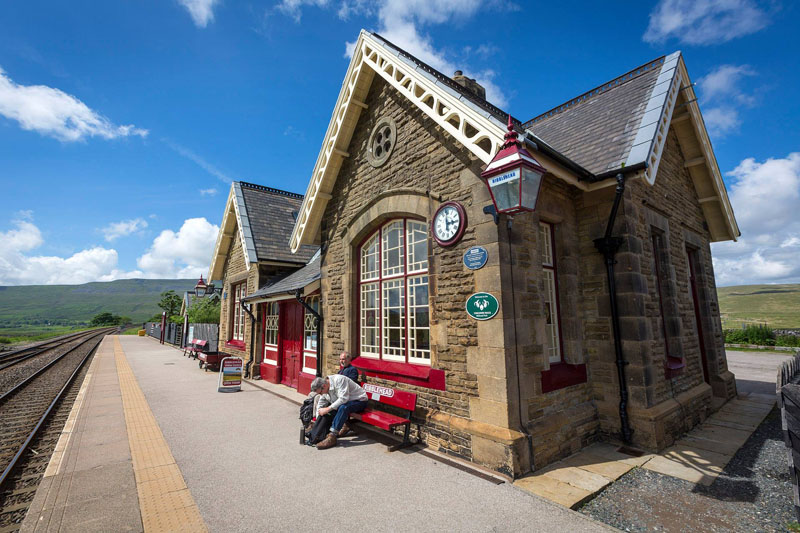 Ribblehead Railway Station On The Settle To Carlisle Line