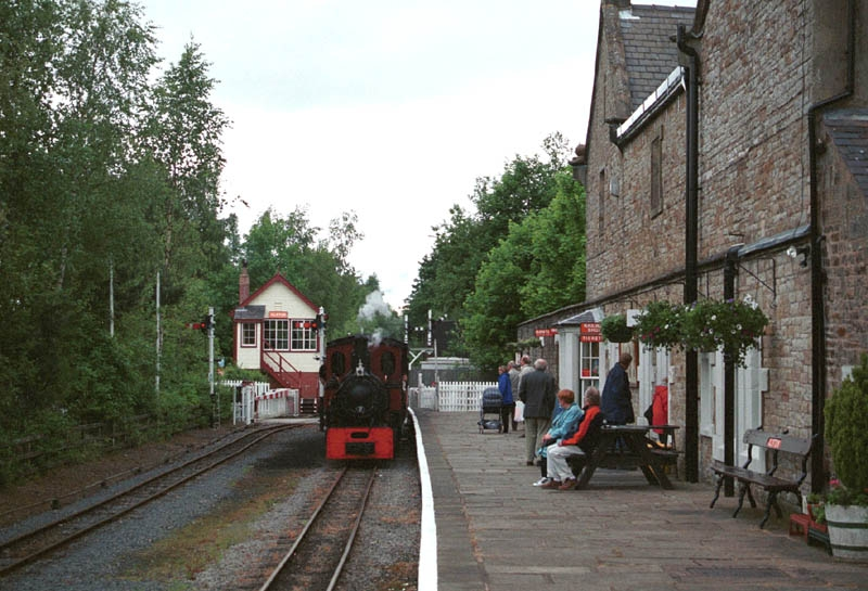South Tynedale Railway At Alston Station Visit Cumbria