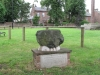 Temple Sowerby.   John Wesley preached from this stone in 1782 - \'The World is My Parish\'