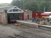 Kirkby Stephen East Station at August 2011