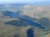 Aerial view of Thirlmere.