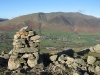 Blencathra and Threlkeld from one of the cairns on Threlkeld Knotts
