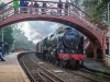Wetheral Station - steam special – 'The Hadrian' – 29th Mar 2014.