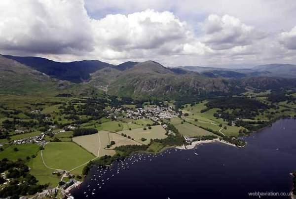 image of aerial view of Coniston