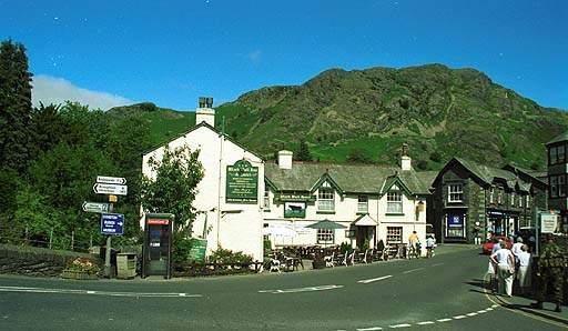 image of coniston village