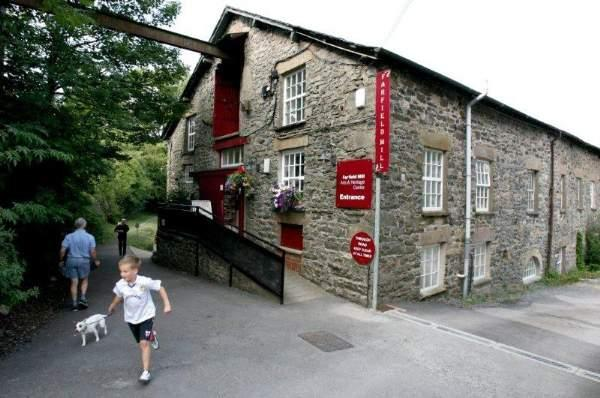 image of Farfield Mill and exhibition venue for events in the Lake District