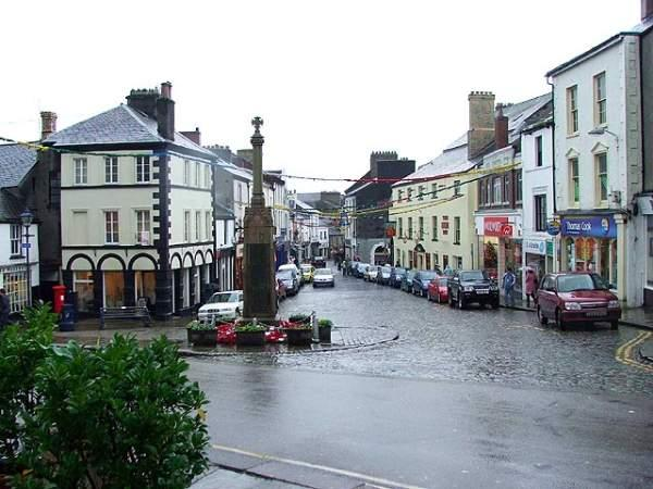 image of the centre of Ulverston in Cumbria