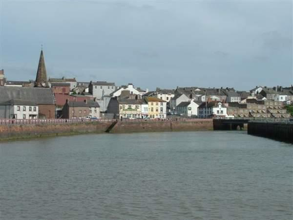 Maryport harbour