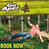 Go Ape! Tree Top Adventures at Whinlatter Forest near Keswick and Grizedale Forest near near Hawkshead
