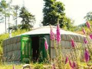 The lovely yurt company on the side of windermere lake