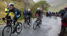Tour of Britain 2013 at Honister Pass