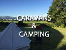 image of campsites and caravan site accommodation in the lake district