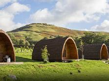 image of castlerigg hall lake district camping pods at keswick