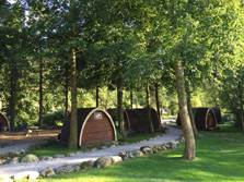 image of pet friendly lake district glamping, camping pods eskdale