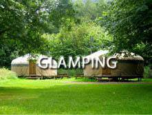 image of glamping accommodation in the Lake District