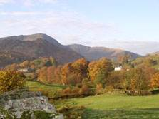 image of Little Fell lake district holiday cottage at little langdale
