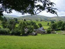 image of snowdrop holiday cottage in the lake district