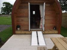image of luxury lake district glamping pods
